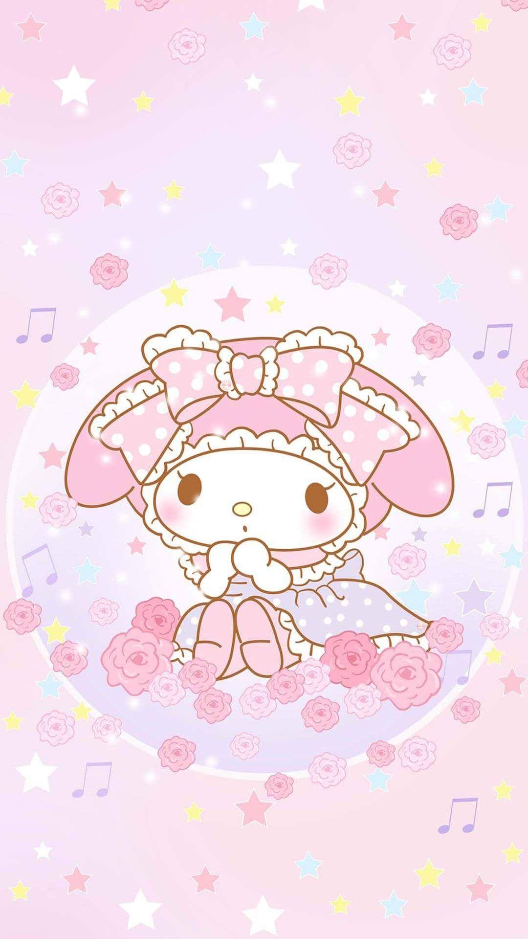 My Melody คาวาอ ภาพประกอบ วอลเปเปอร ด สน ย