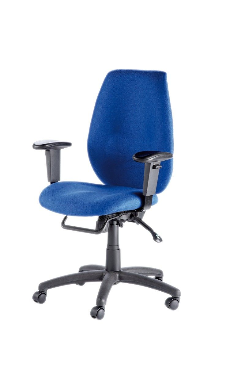 An ergonomic backrest with three dimensional curvature