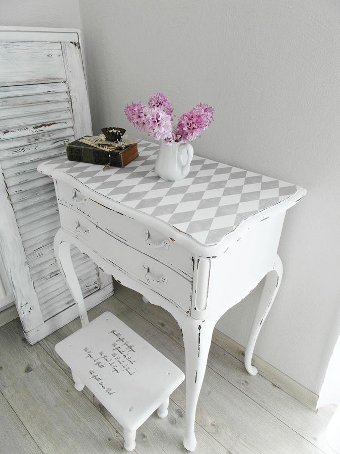 Decoupage Furniture Makeover, Casa Blanca Furniture