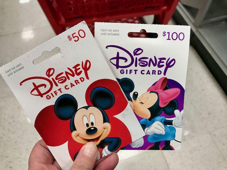 Disney Gift Card 50 Disney Gift Card Disney Gift Disney