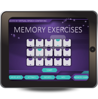 Memory Exercises app was designed to help improve and