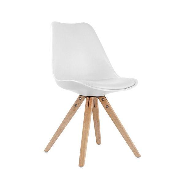 Chaise de salle à manger design DAVEN, style scandinave - HcommeHome