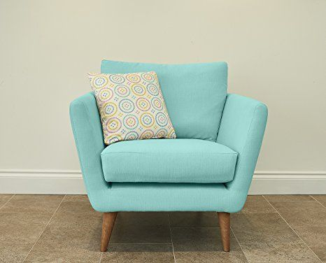 Fizz Chair Fabric Turquoise Amazon Co Uk Kitchen Home
