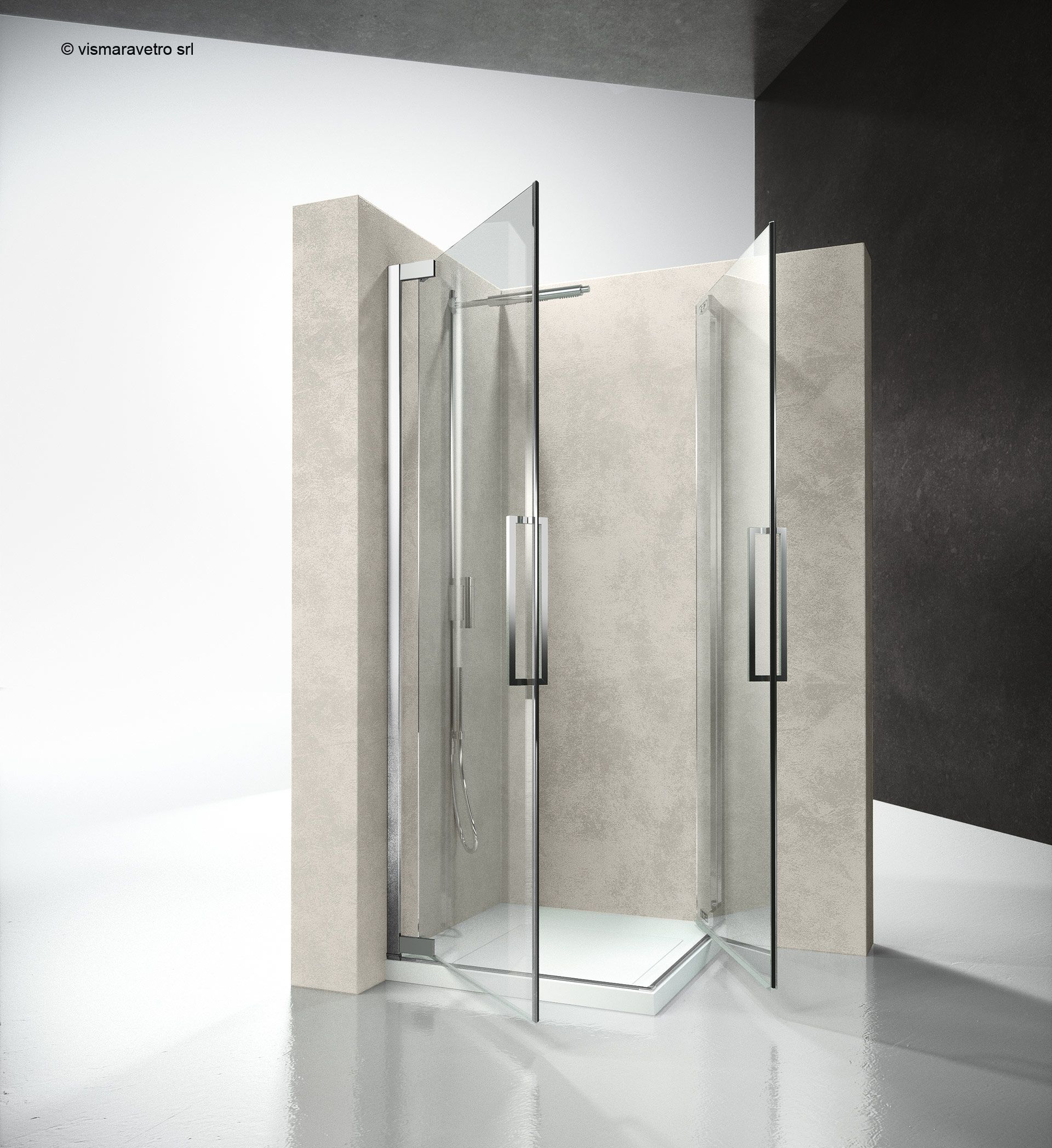 Fa Fa Flare Shower Enclosures Models Pivot Door Hinged Door Shower Enclosure Flare The New Hinged Door Shower Enclosure By Vis Badezimmer Baden Zimmer