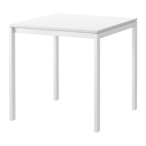 IKEA - MELLTORP, Table, The melamine table top is moisture resistant ...