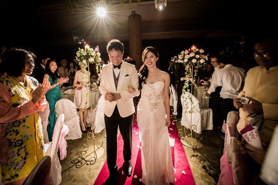 Pink And White Wedding At Shangri Las Rasa Sentosa Resort Tris Jacqueline