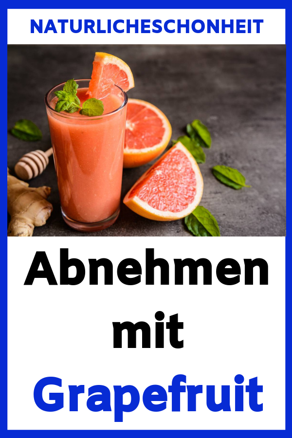Essen Sie Grapefruit, um Gewicht zu verlieren