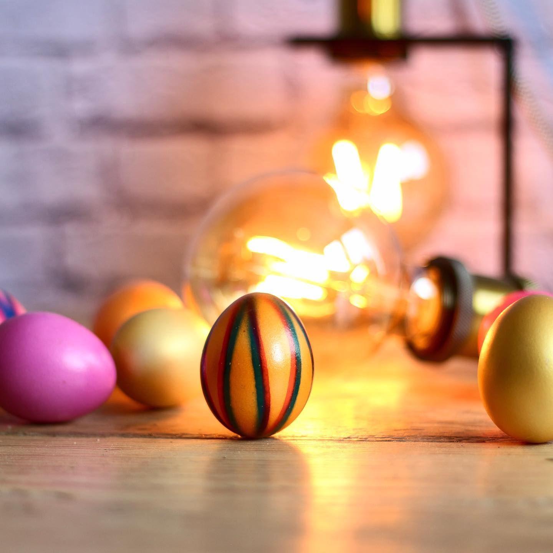Auch Von Mir Frohe Ostern Und Geniesst Das Schone Wetter Moebeldiegel Ostereier Beleuchtung Lampen Wohnungseinrichtu In 2020 Decor Billiards Billiard Balls