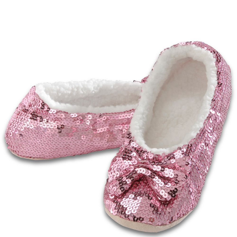 a0f0f502eb7 Snoozies Women s Pink Bling Snoozies