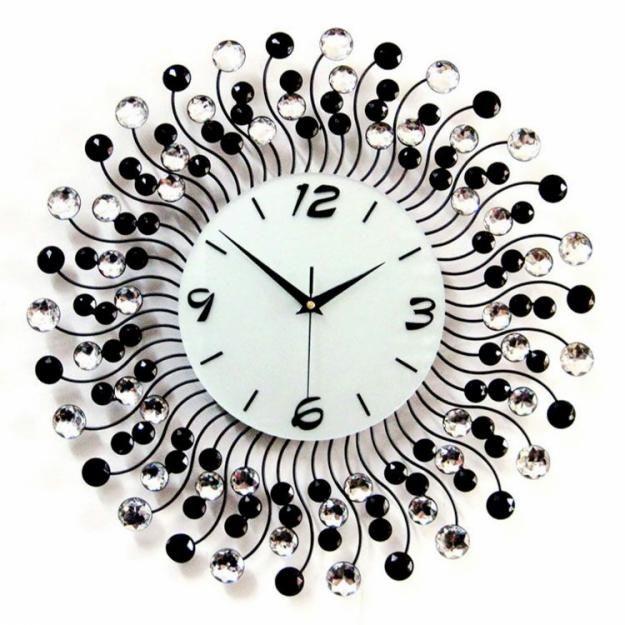 10 Beautiful Crystal Wall Clock Designs Wall Clock Wall Clock
