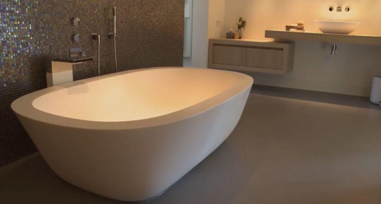 Interieur Natuur Badkamer : Mooie rustige badkamer met natuur elementen bathrooms