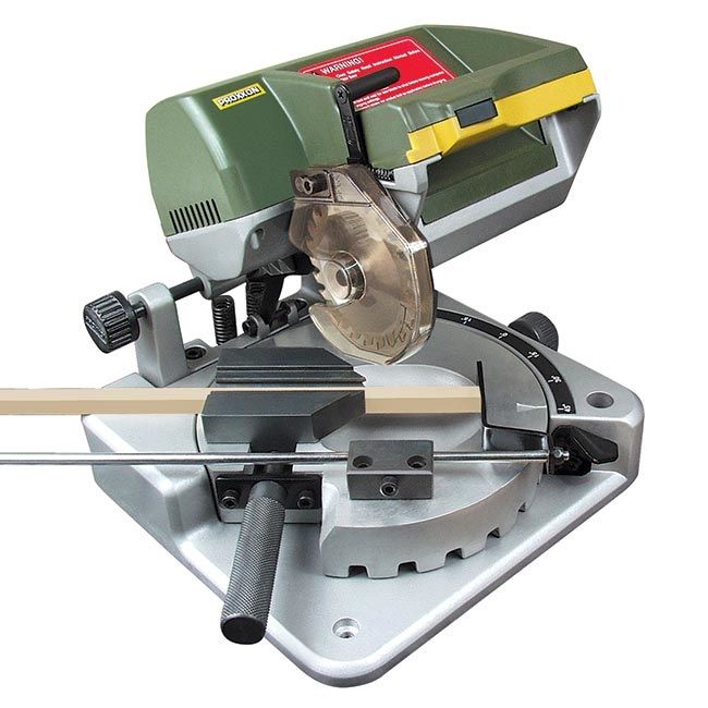 Proxxon Mini Chop Miter Saw for Hobby Use | Miniature