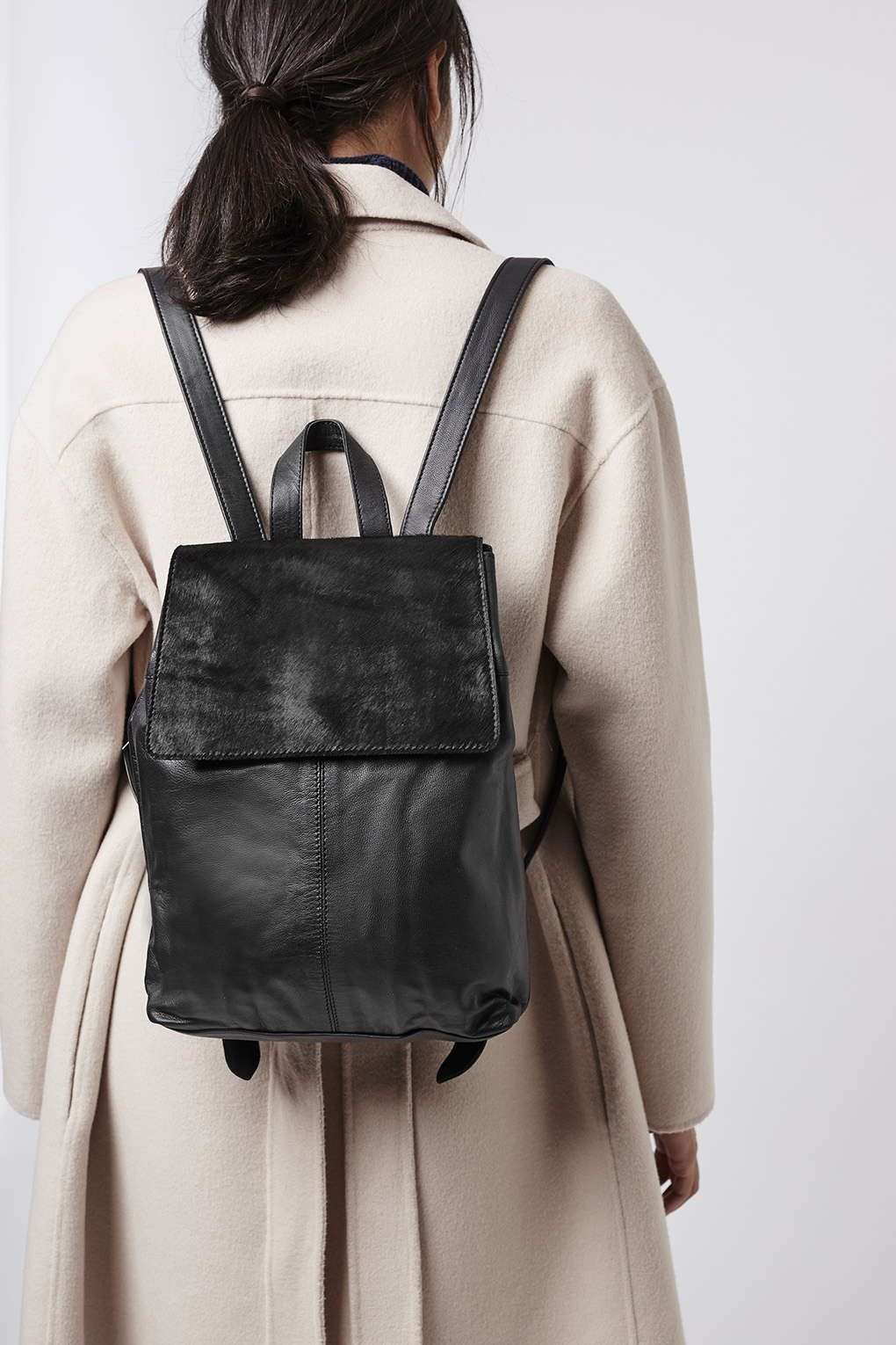 Leather Ponyhair Backpack - Bags & Wallets - Bags & Accessories ...