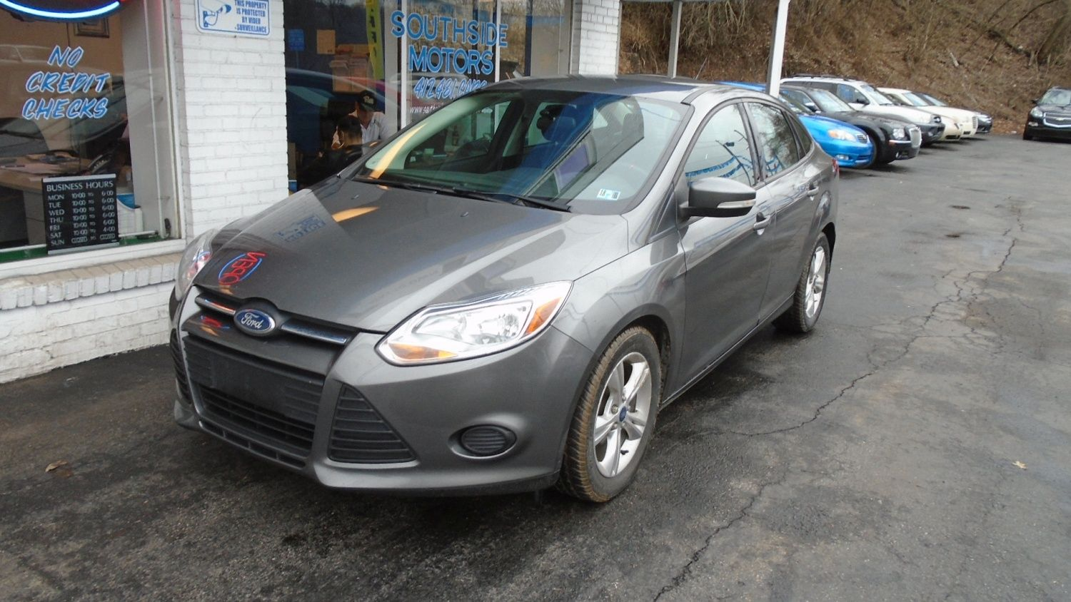 2013 ford focus se sirius alloys and great gas mileage