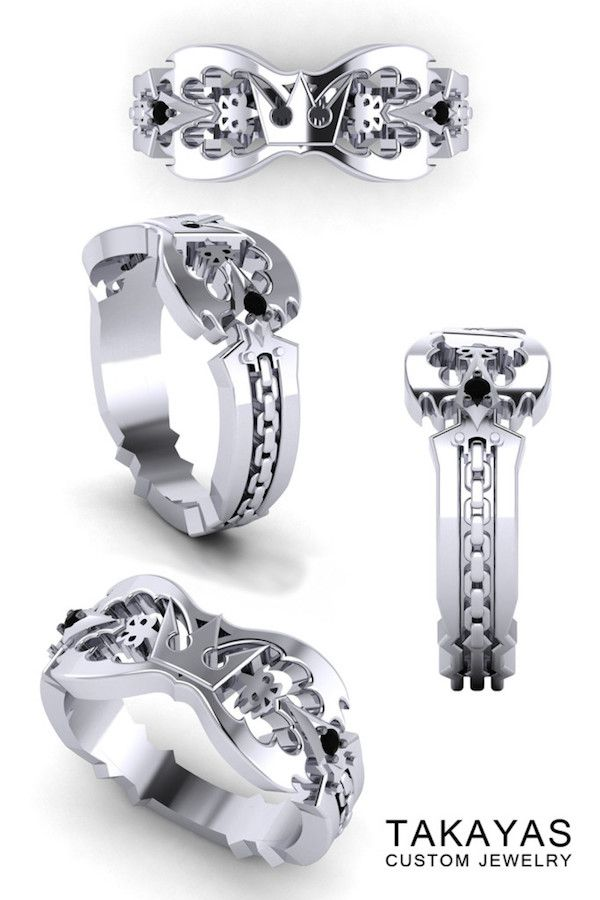 The \'Kingdom Hearts\' Wedding Ring Collection | Disney and a bit of ...