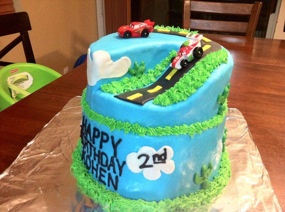 Cars2 Cake