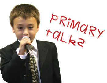 Primary Talks by month/primary theme.