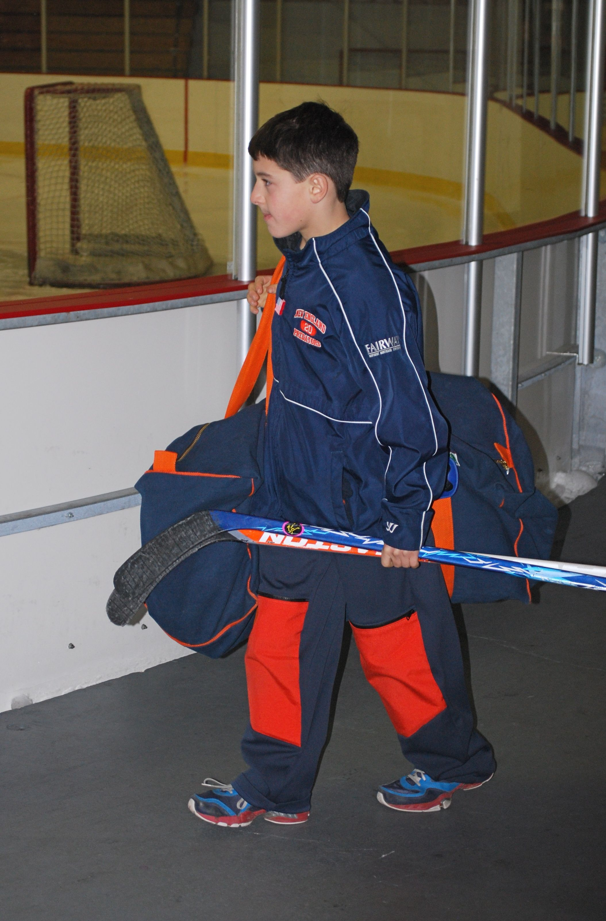Knockeys knee hockey pants put the pads in to play and