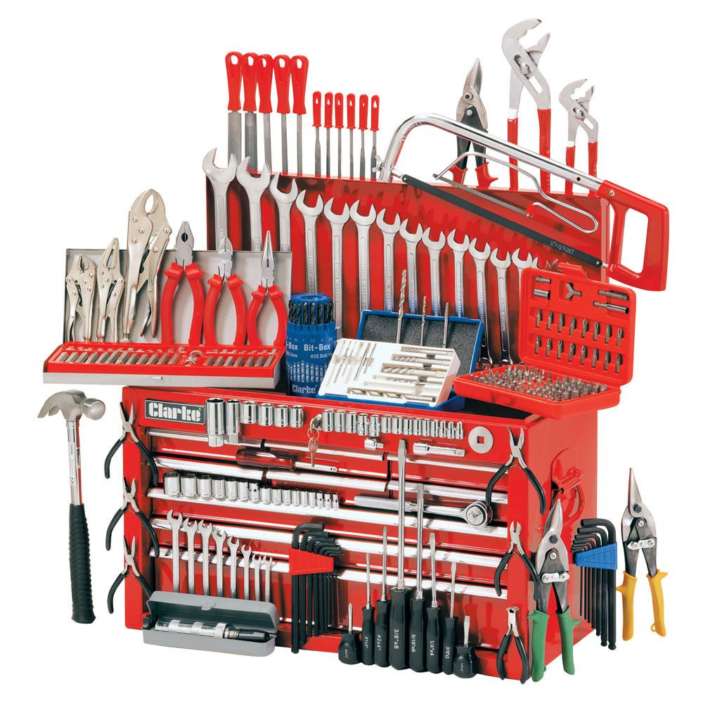 Mechanics Tools Clarke Cht634 Mechanics Tool Chest And