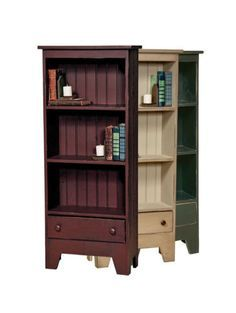 BOOK CASE w/ DRAWER Amish Handmade Repurposed Country Furniture bookcase