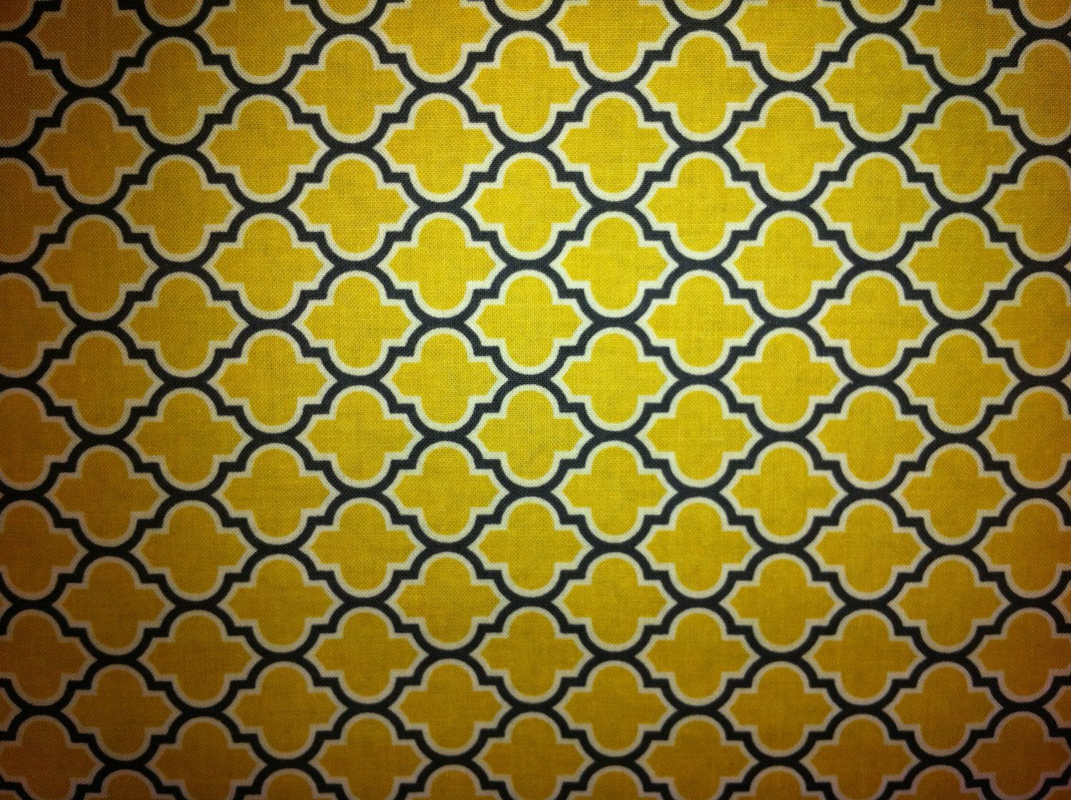 Gray/Yellow Fabric