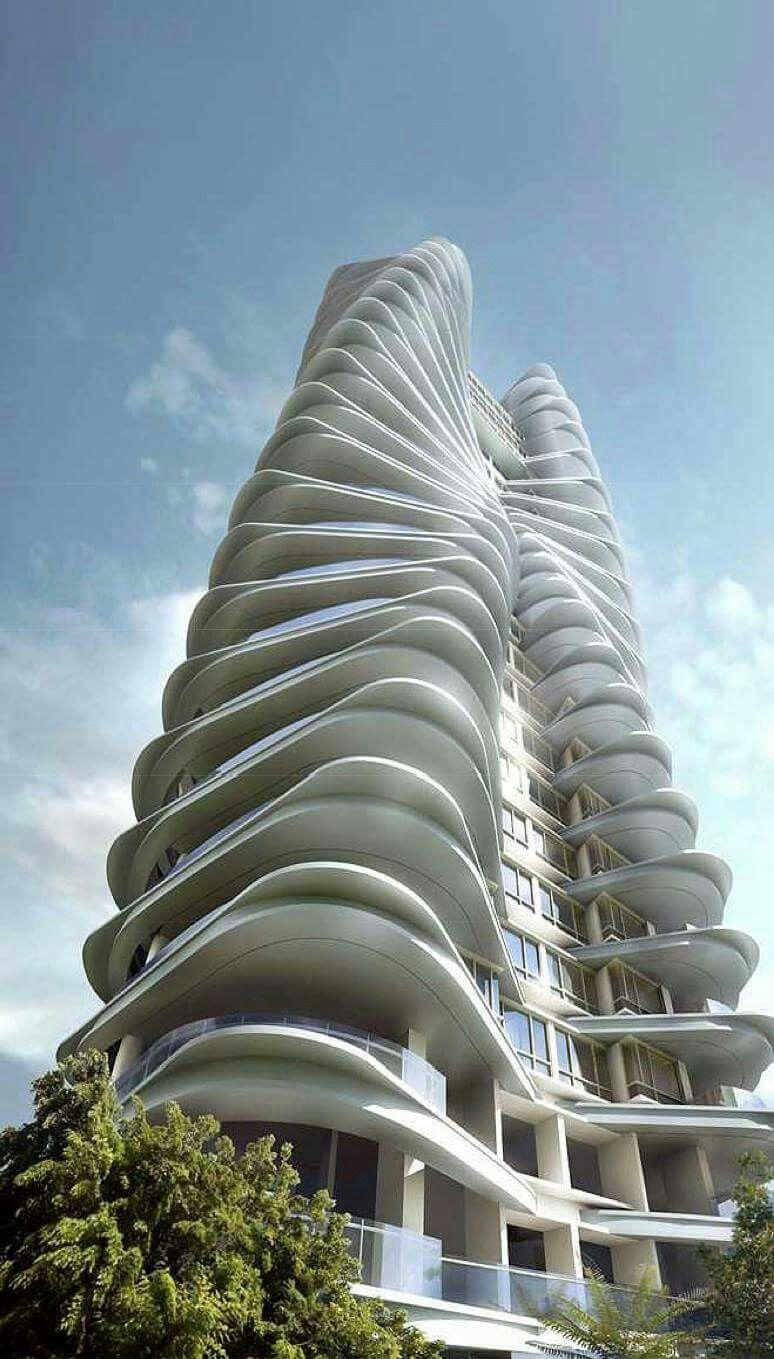 Ferrell residences condominium singapore futurisztikus p letek p tm nyek pinterest - Futuristische architektur ...