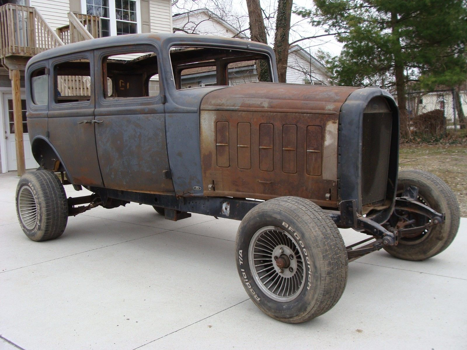 EBay 1932 Buick 57S 32 Street Hot Rat Rod Gasser Barn Find