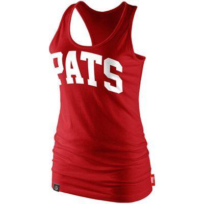 separation shoes 17887 d0ebc Nike New England Patriots Ladies Fan Culture Racerback Tank ...