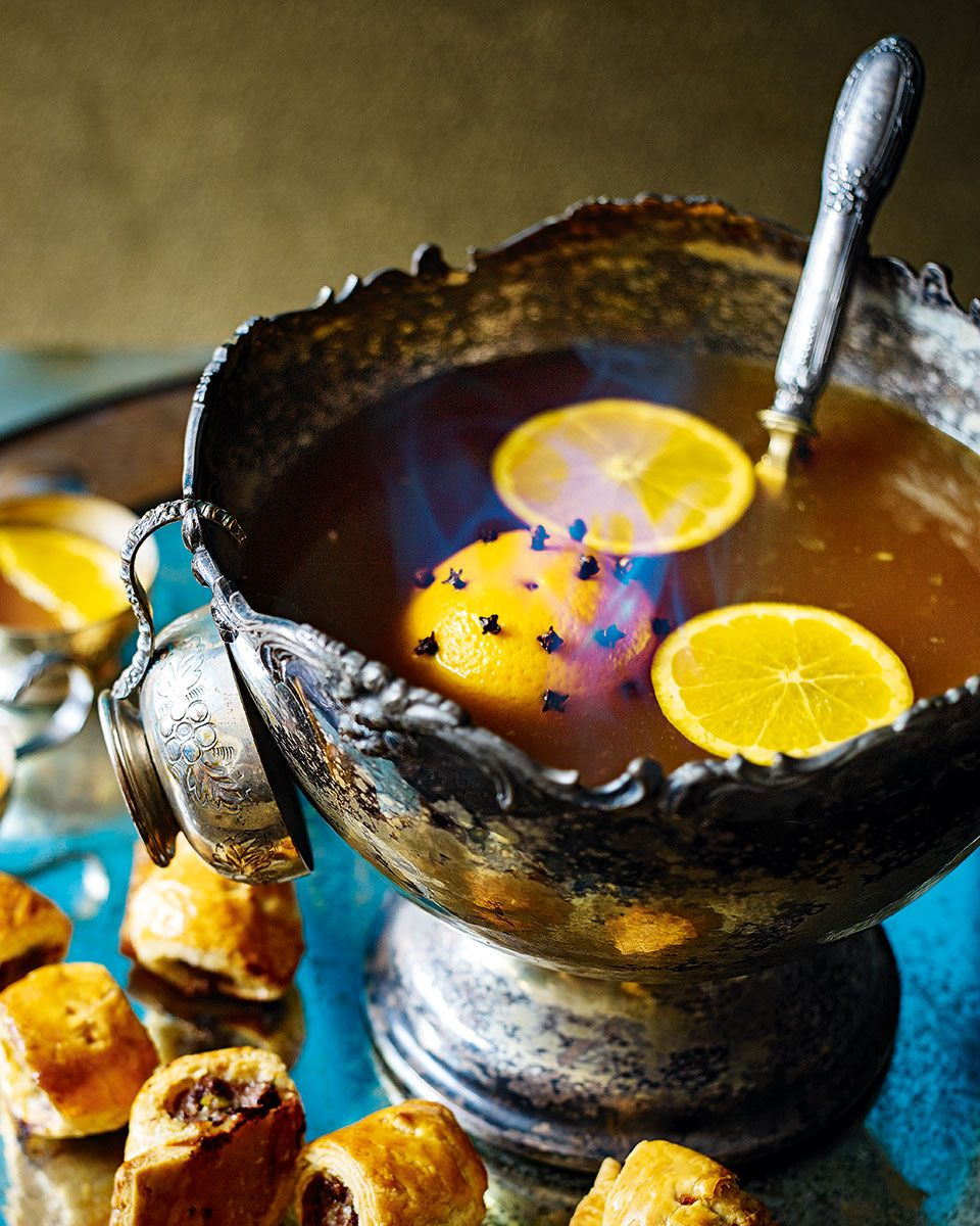 Punch Recipes, Food