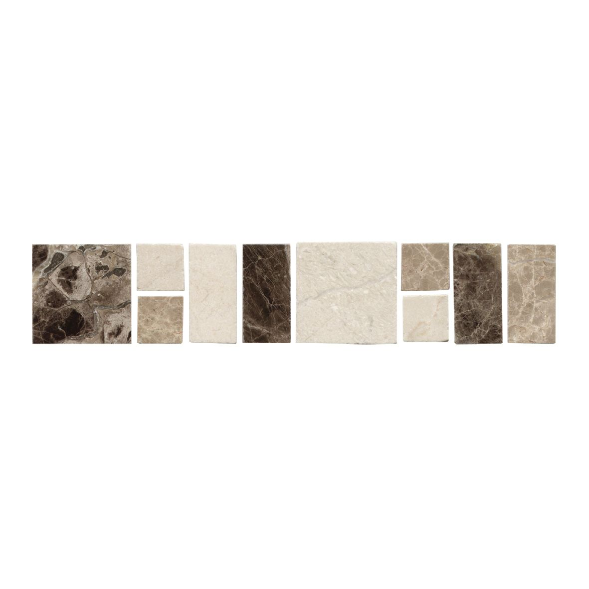 Gemini Natural Border Tile AP136 | Kitchen and Bathroom Décor Tiles ...