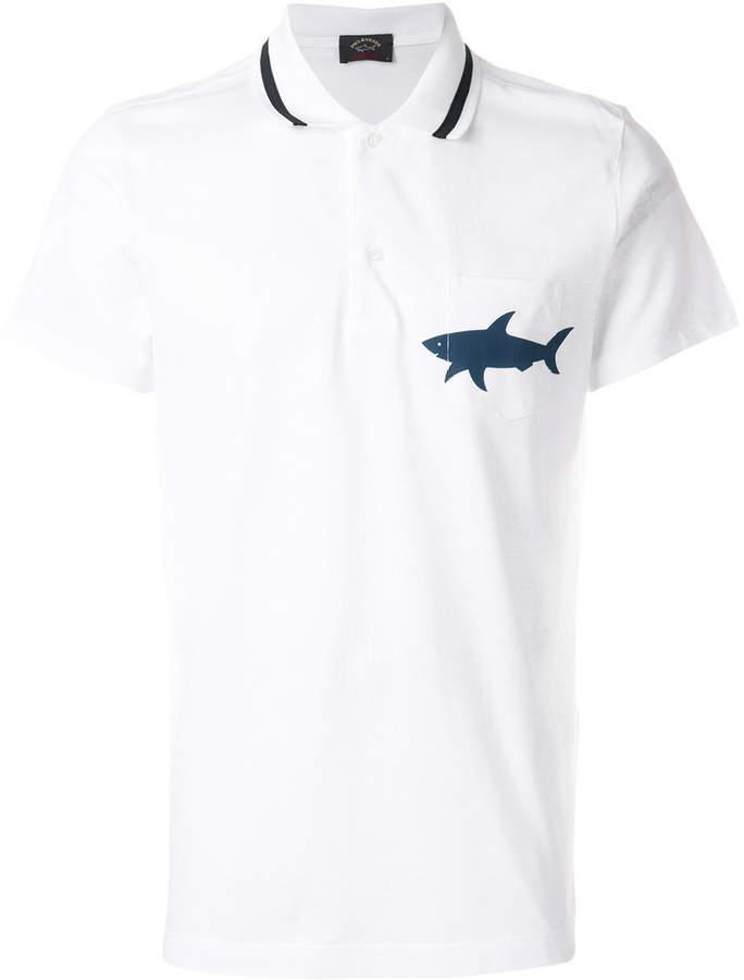 Paul Shark Shark Logo Polo Shirt Products Pinterest Shark