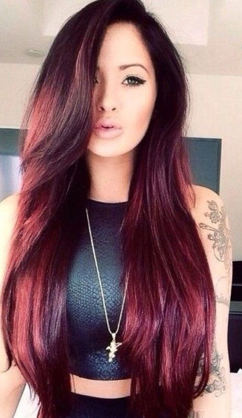 long hair dye styles auburn hair colors for 2016 trendy hairstyles 2015 7799 | 692e58a0d12bac3ff2b337d301245983