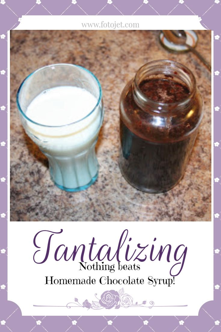 Chocolate Syrup: Rich & Delicious Recipe | Homemade ...