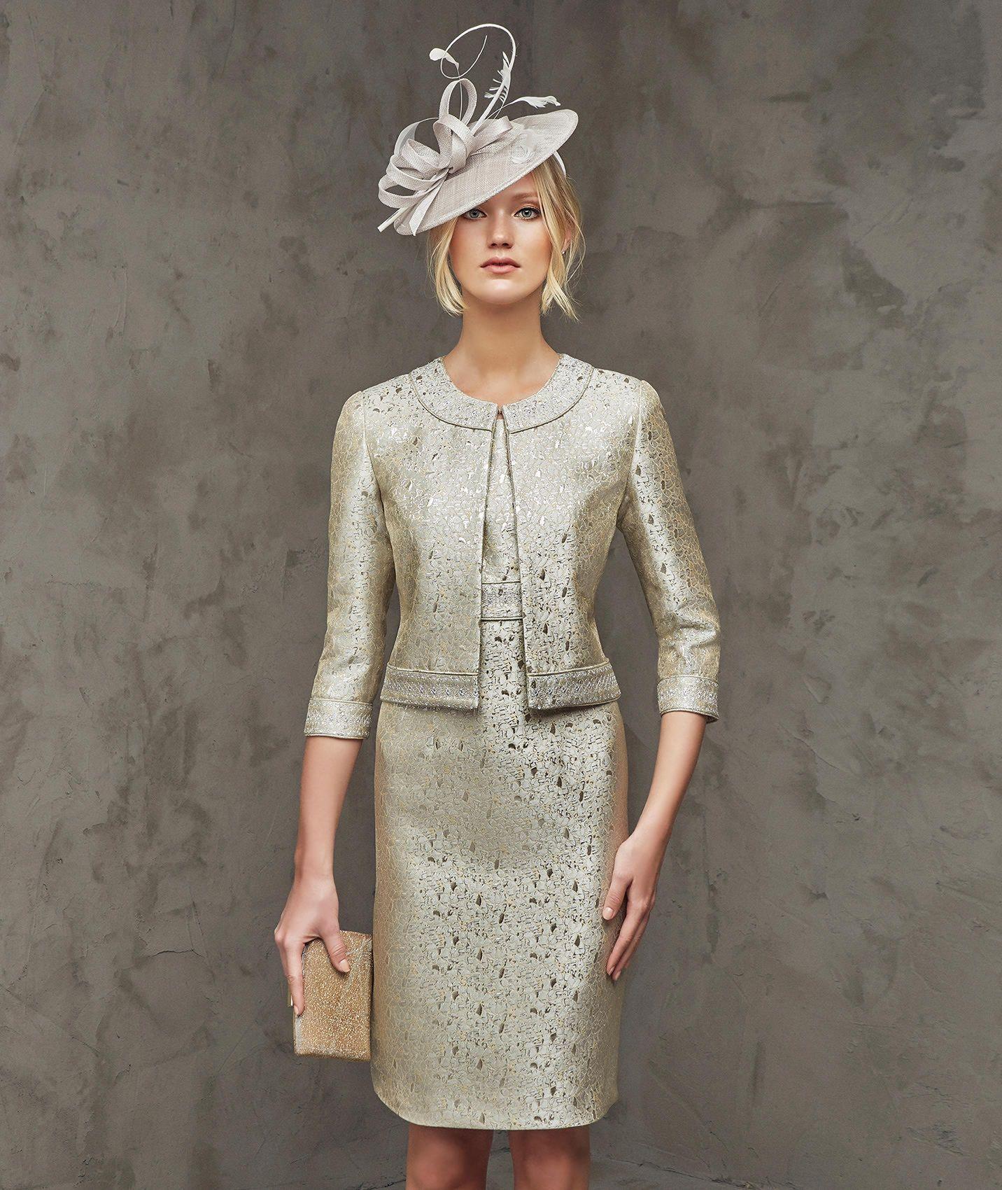 Robe de soiree courte style empire