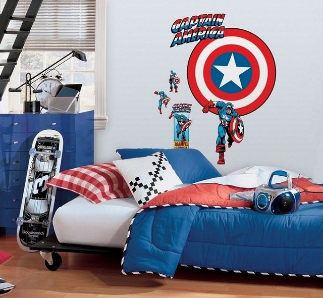 Dormitorios infantiles de superh roes casa dormitorios - Habitaciones infantiles nino ...