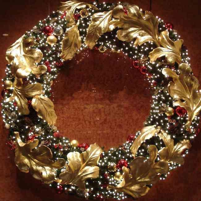tips decoracin de navidad coronas de navidad clsicas y personalizadas