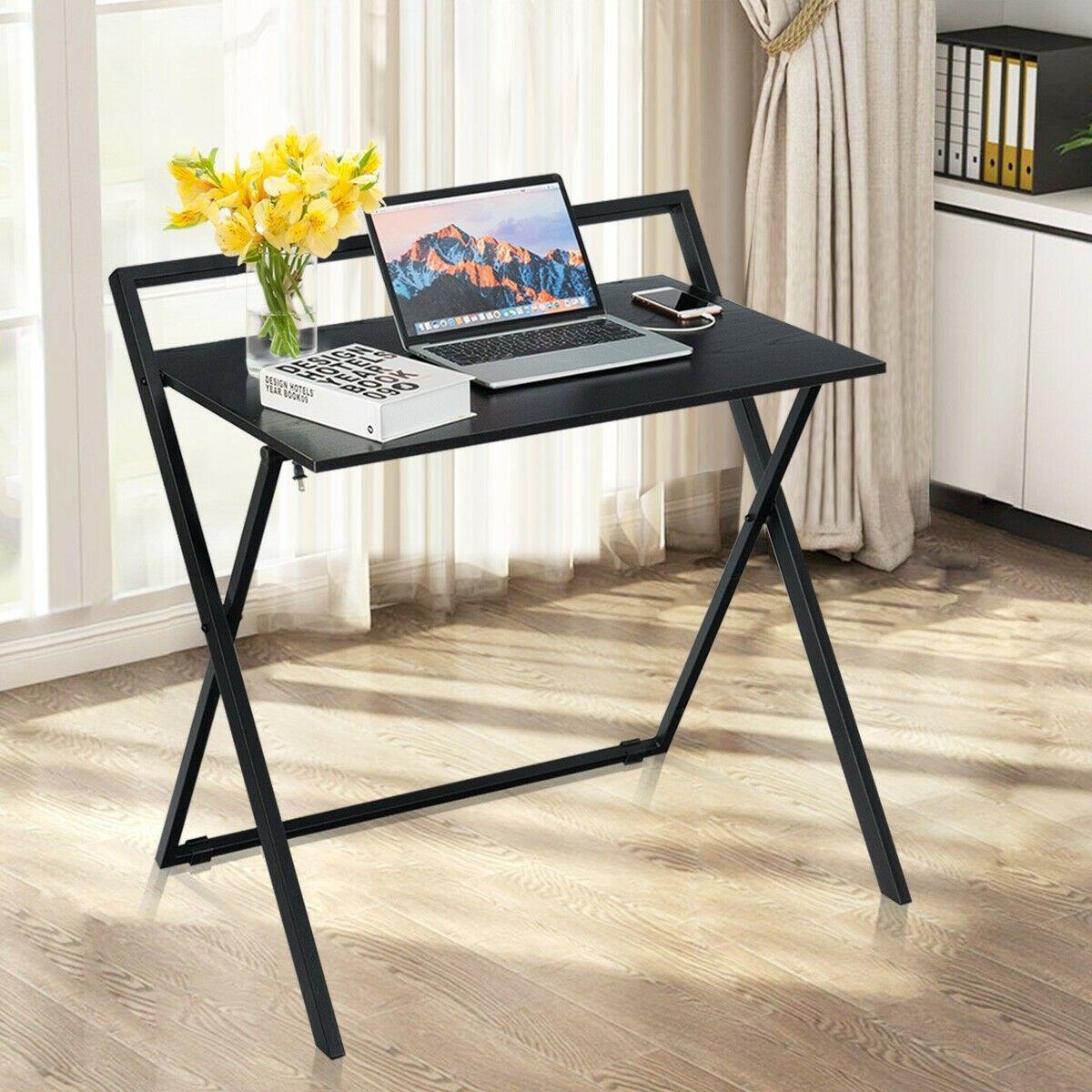 Folding Simple Pc Laptop Writing Table Computer Desk Computer