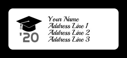 27 Free Label Templates To Celebrate Graduation Onlinelabels Com Address Label Template Labels Printables Free Templates Address Labels