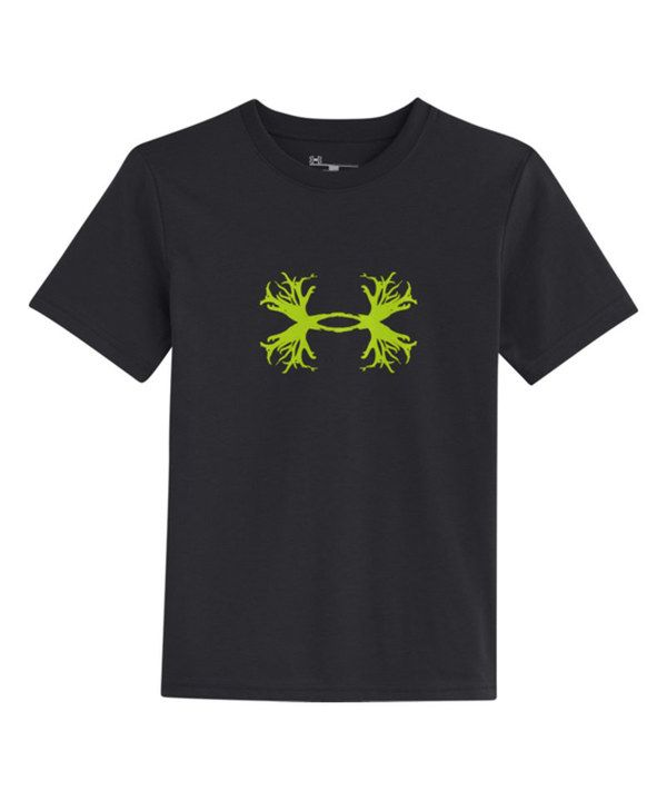 Look at this Under Armour® Black Antler Logo Tee - Boys on #zulily today!