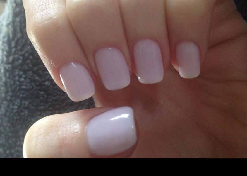 Square Nails With Rounded Edges
