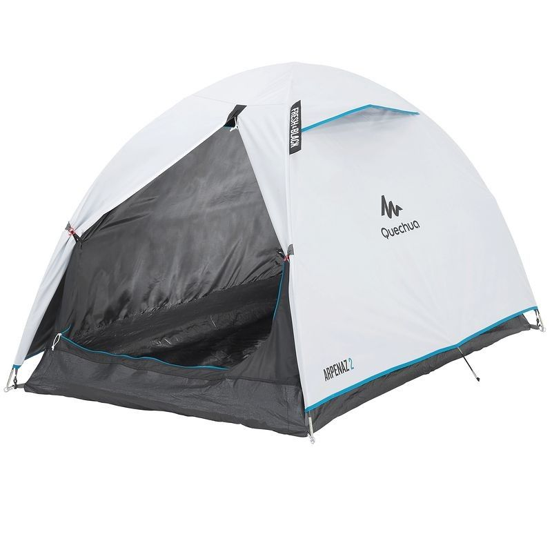 Tente De Camping Arpenaz Fresh Black 2 Personnes Camping Decathlon Camping Tente