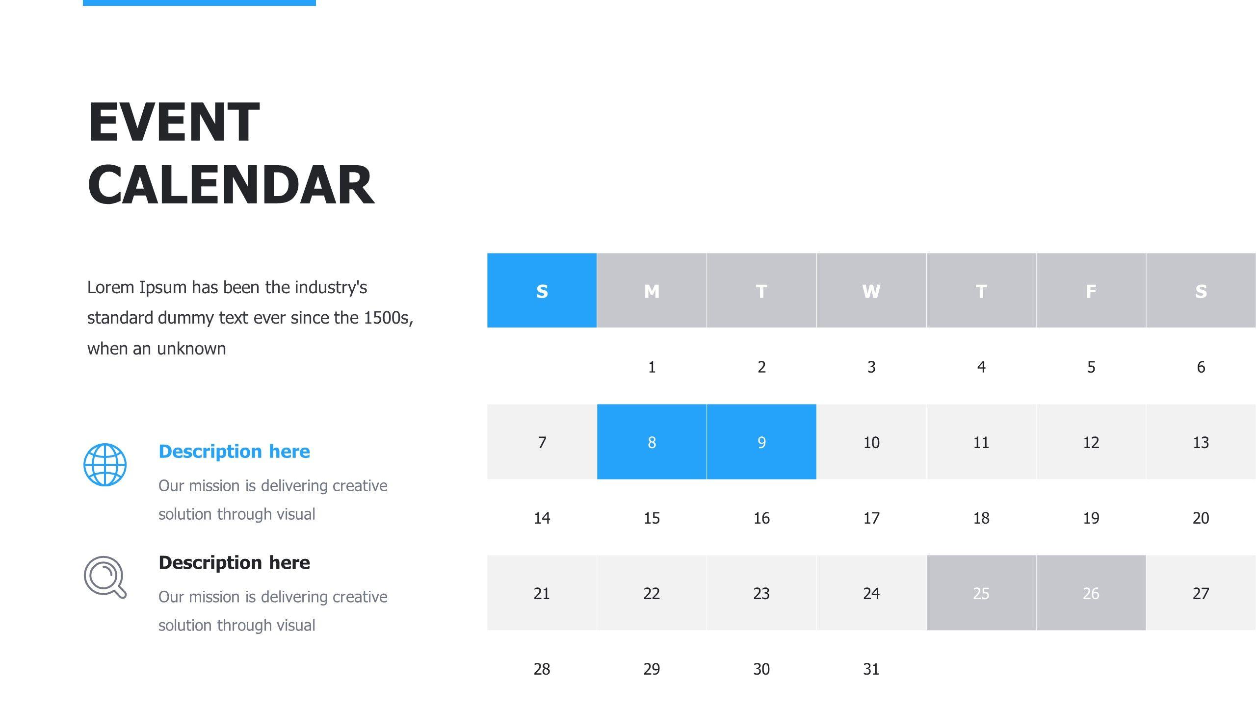 Start Up Pitch Google Slides Template