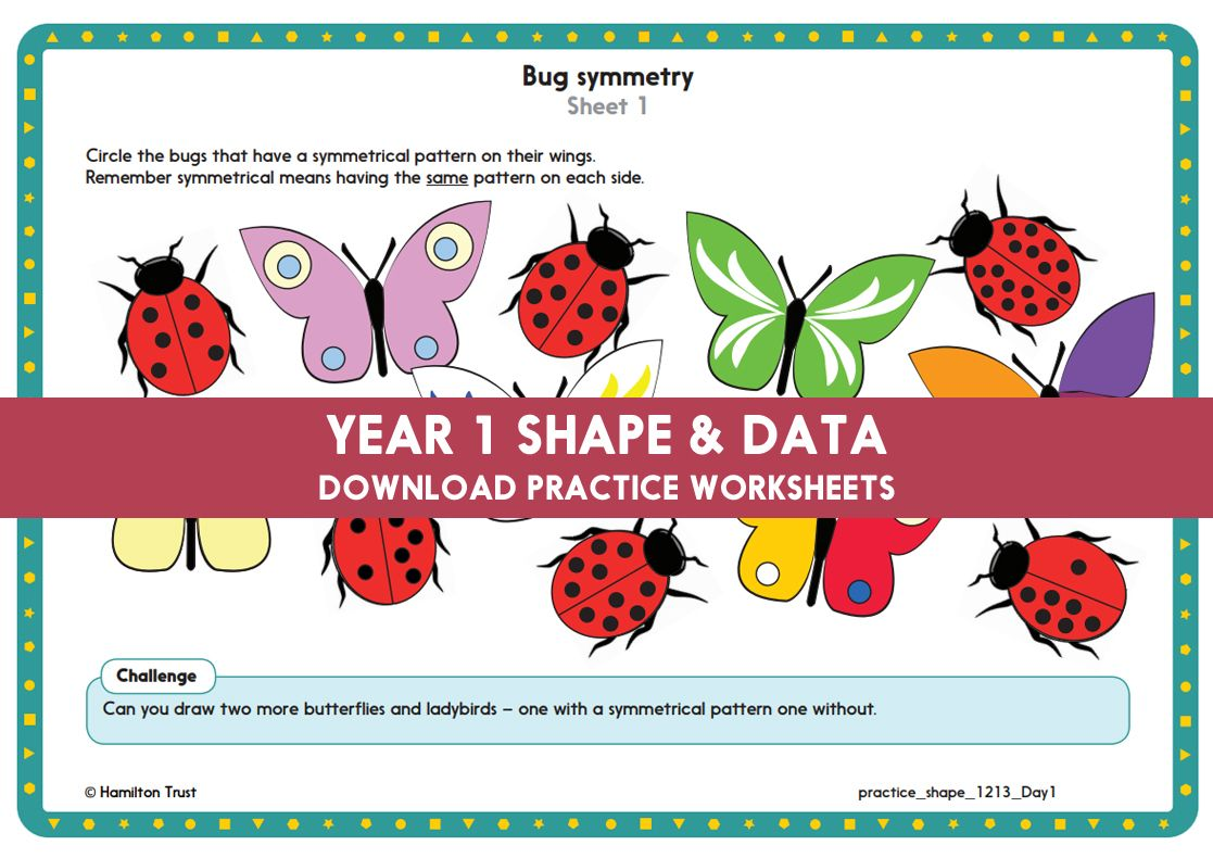 Year 1 Maths Shape Amp Data
