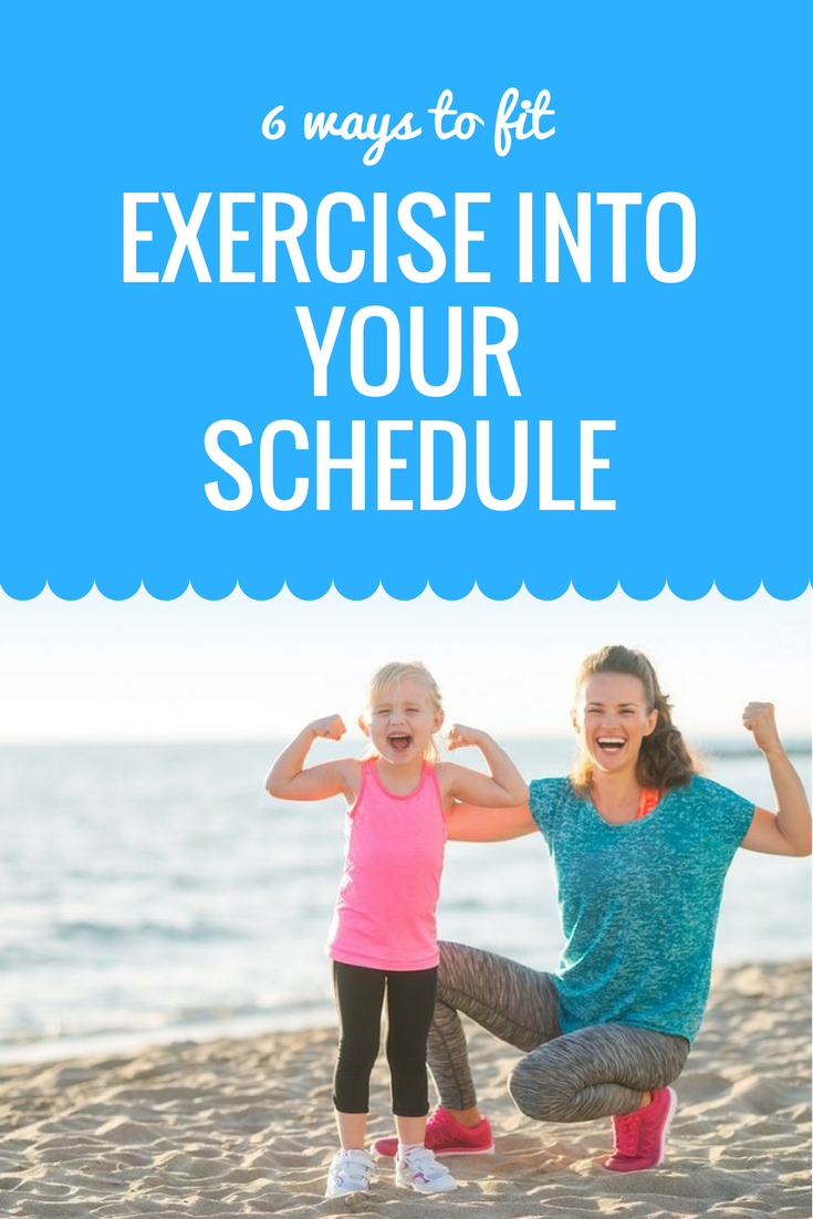 Watch How to Fit Exercise into Your Busy Day video