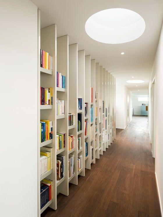 Book Harp Pinterest - Planken, Trap en Zolder - einrichtungsdeen fur hausbibliothek bucherwand