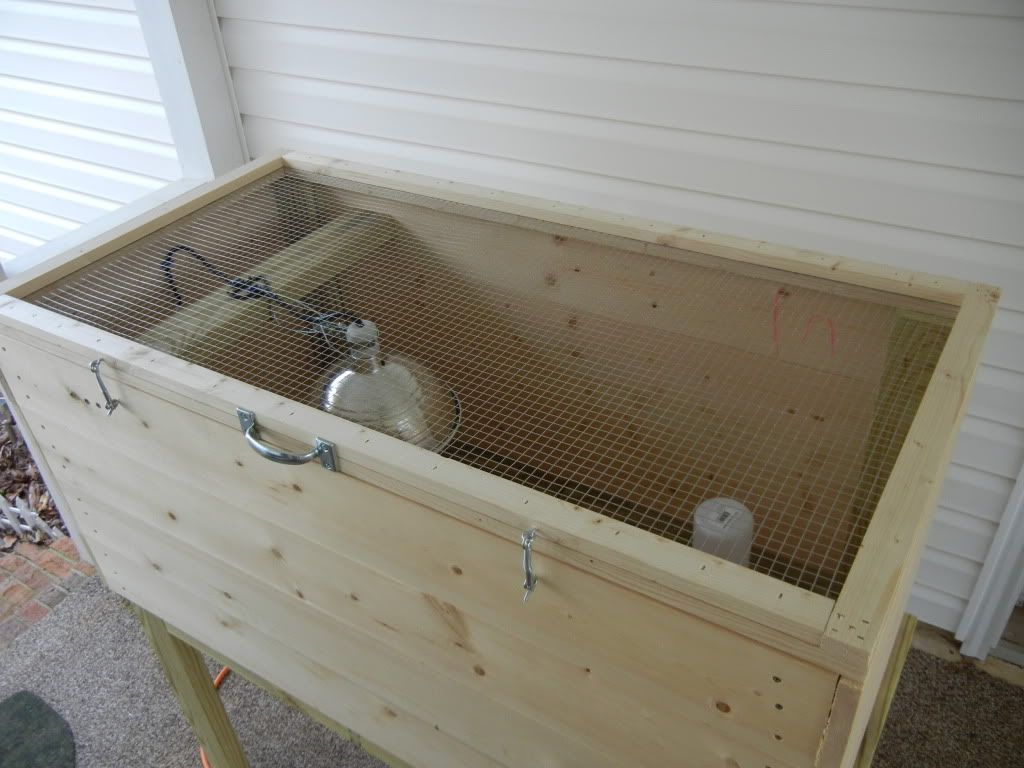 Chicken Brooders For Sale With My New Brooder Box I Built The Little Chicks Pictures Brooder