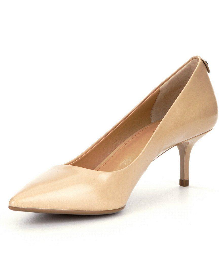 half off official site best online MICHAEL Michael Kors MK-Flex Kitten Heel Pumps | Kitten heel pumps ...