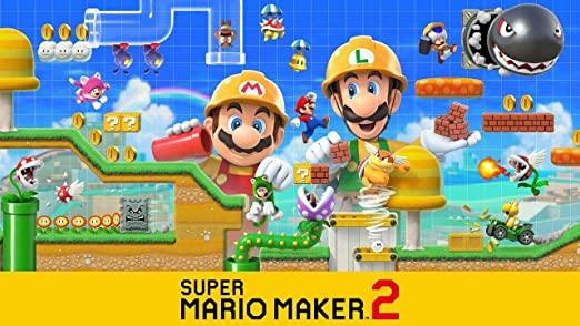Amazon Com Super Mario Maker 2 Nintendo Switch Nintendo Of America Video Games Mario Super Mario Super Mario Games