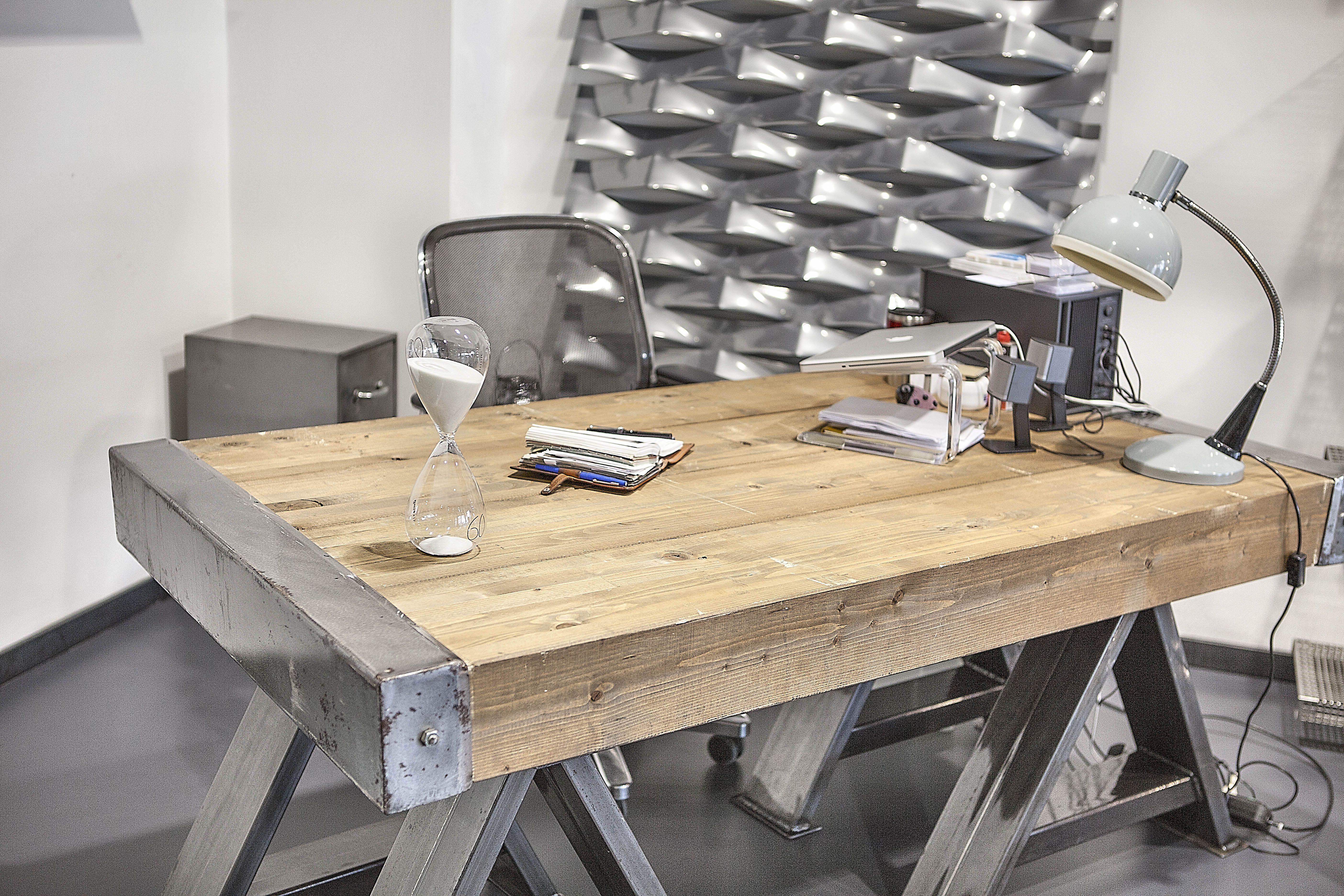 Best emejing scrivania legno grezzo images acomous acomous with cucine in legno grezzo - Cucine legno grezzo ...