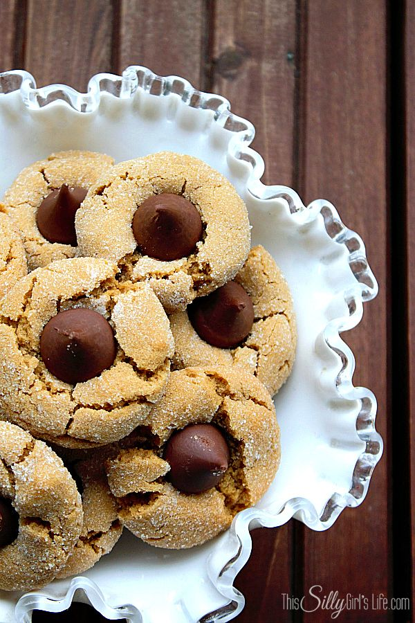 Spring Blossoms (Peanut Butter and Chocolate Cookies